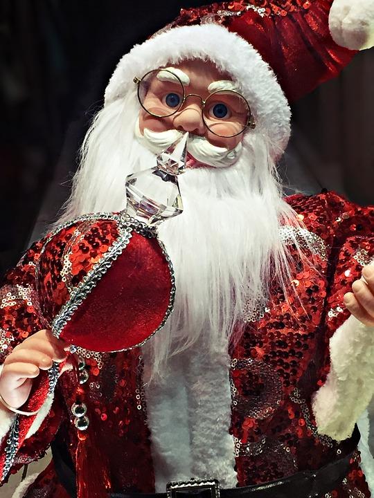 Como conseguir la visita de papa Noel a domicilio-muñeco