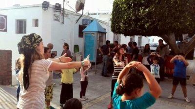 Cantajuegos de chuchua con baile
