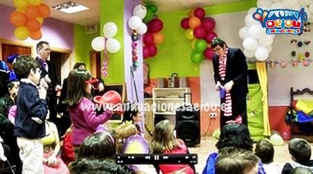 Animaciones para fiestas de cumpleaños infantiles y comuniones Almansa