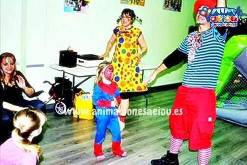 Animaciones para fiestas de cumpleaños infantiles y comuniones en Caudete