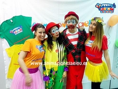 Animaciones para fiestas de cumpleaños infantiles y comuniones en La Roda