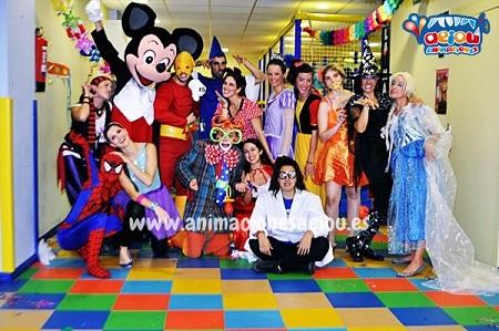 Animaciones para fiestas de cumpleaños infantiles en Jávea
