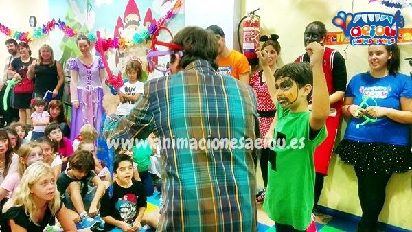 animaciones para fiestas de cumpleaños infantiles y comuniones en Alcoy