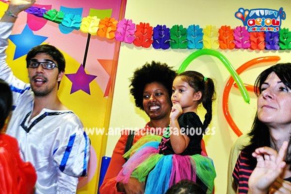 animaciones para fiestas de cumpleaños infantiles y comuniones enSanta Pola
