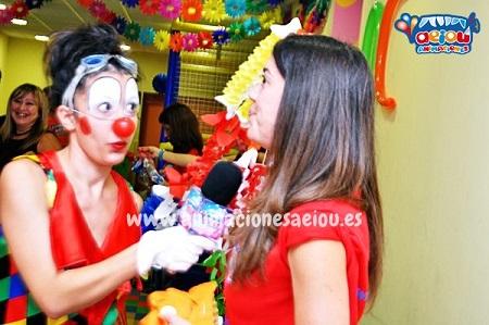 Animaciones para fiestas de cumpleaños infantiles en Mazarrón
