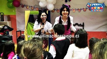 Animaciones para fiestas de cumpleaños infantiles y comuniones en Teruel