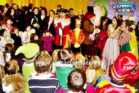 Animaciones para fiestas de cumpleaños infantiles y comuniones en Totana