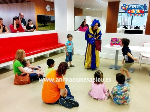 Animaciones para fiestas de cumpleaños infantiles y comuniones en Alcantarilla