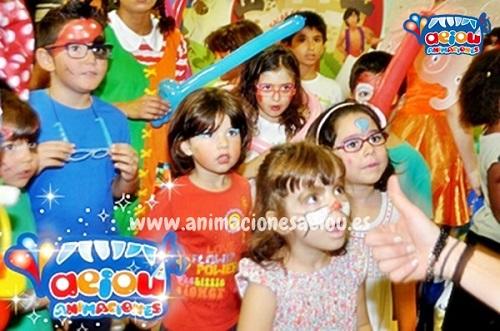 animaciones para fiestas de cumpleaños infantiles y comuniones en Burjassot