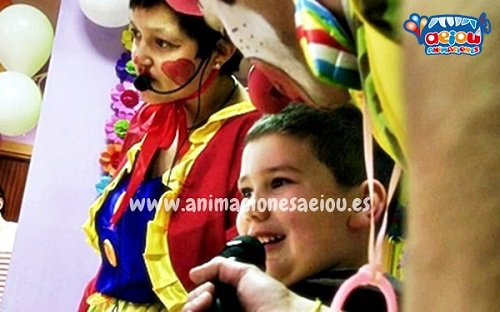 animaciones para fiestas de cumpleaños infantiles y comuniones en Mislata