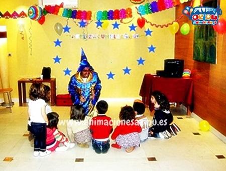 animaciones para fiestas de cumpleaños infantiles y comuniones en Sueca