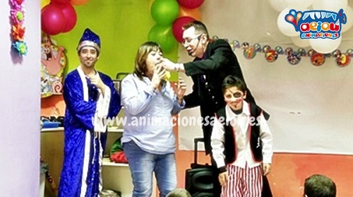 animaciones para fiestas de cumpleaños infantiles y comuniones en Xàtiva