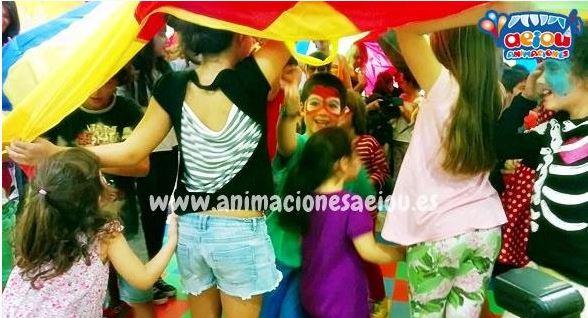 Animadores para fiestas infantiles en Hellín