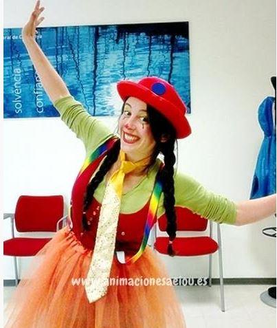 Animadores para fiestas infantiles en Roquetas de Mar
