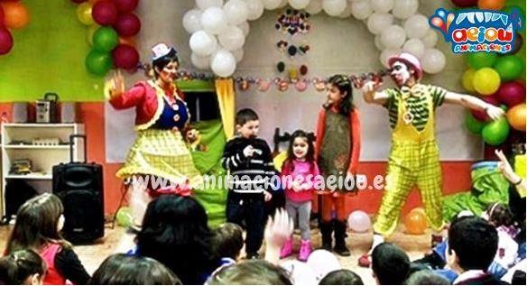 Payasos para fiestas infantiles en Vícar