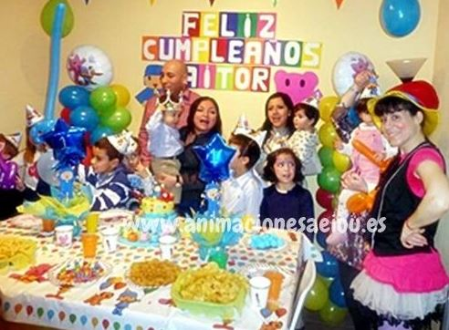 Magos para fiestas infantiles en Burriana
