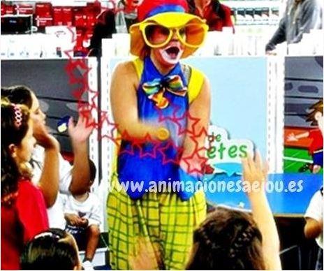 Payasos para fiestas infantiles en Almansa