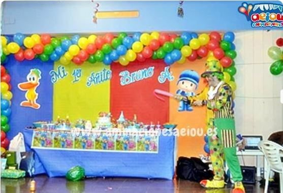 Payasos para fiestas infantiles en Burriana