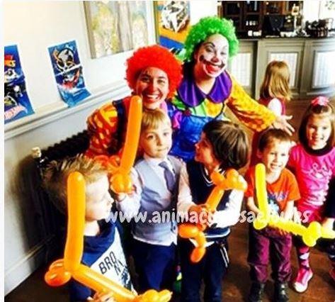 Payasos para fiestas infantiles en Villarobledo
