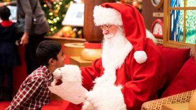 Dónde ver a Papá Noel y reyes magos este año